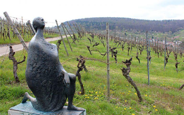 Strümpfelbach i el camí de les escultures (Alemanya)