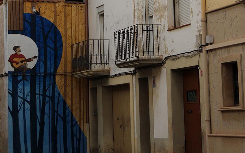 murals ivars durgell el pla durgell